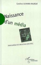 Naissance d'un média ; histoire de la radio en France (1921-1931) - Intérieur - Format classique