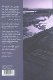 Un puma feule au fond de ma memoire - 4ème de couverture - Format classique
