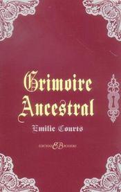 Grimoire ancestral - Intérieur - Format classique