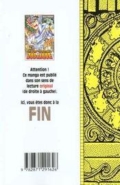 Les chevaliers du zodiaque t.8 - 4ème de couverture - Format classique