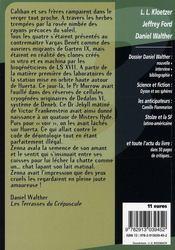 Daniel Walther - 4ème de couverture - Format classique