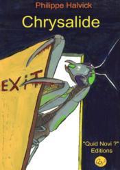 Chrysalide - Couverture - Format classique