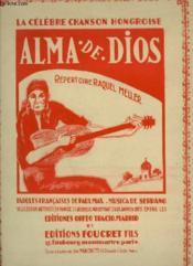 Alma De Dios - Celebre Cancion Hungara Pour Piano. - Couverture - Format classique