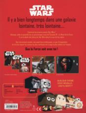 PAPERTOYS ; Disney Star Wars ; personnages à construire ; voyage vers l'épisode VII - 4ème de couverture - Format classique