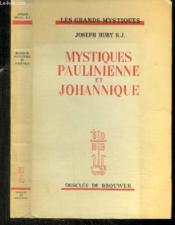 Mystiques Paulienne Et Johannique - Couverture - Format classique