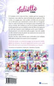 Juliette T.12 ; Juliette à Hawaii - 4ème de couverture - Format classique