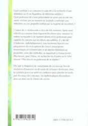 Dictionnaire De Mathematiques Prepas Economiques Et Commerciale Option Eco.Scientifique Et Techno. - 4ème de couverture - Format classique