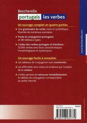 Bescherelle portugais ; les verbes - 4ème de couverture - Format classique