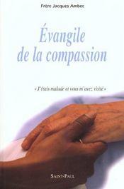 Evangile De La Compassion - Intérieur - Format classique