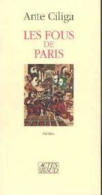 Les fous de paris - Couverture - Format classique