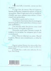 Du goût des pierres et de lapierre marcel, vigneron de la rupture - 4ème de couverture - Format classique
