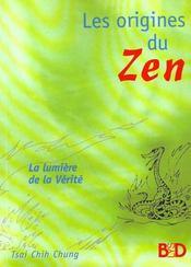 Les origines du zen - Intérieur - Format classique