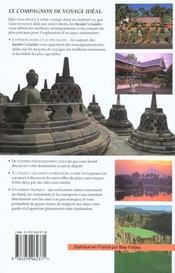 Insider'S Indonesie - 4ème de couverture - Format classique