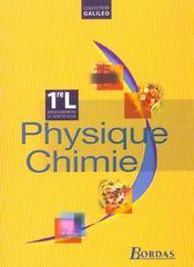 Phys chimie 1re l galileo 2003 - Intérieur - Format classique