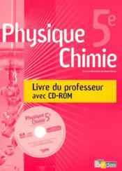 Phys.chimie 5e vento - gp + cd - Couverture - Format classique