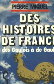 Des Histoires De France - Couverture - Format classique