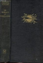 De Rimbaud Au Surrealisme - Panorama Critique - Couverture - Format classique