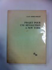 Projet pour une Révolution à New-York - Couverture - Format classique