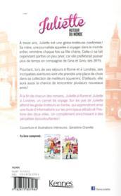 Juliette autour du monde ; INTEGRALE VOL.4 ; Juliette à Rome ; Juliette à Londres - 4ème de couverture - Format classique