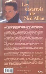 Les Desarrois De Ned Allen - 4ème de couverture - Format classique