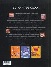 Point De Croix - 4ème de couverture - Format classique
