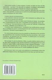 Guide De La Sante Des Enfants - 4ème de couverture - Format classique