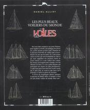 Les plus beaux voiliers du monde avec voiles et voiliers - 4ème de couverture - Format classique