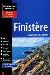 Encyclopedies Regionales ; Finistère - Couverture - Format classique