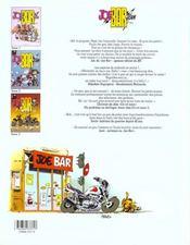 Joe bar team t.3 - 4ème de couverture - Format classique