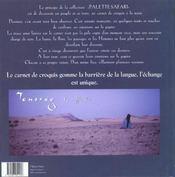Touareg le souffle bleu - 4ème de couverture - Format classique
