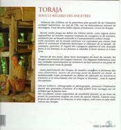 Toraja ; sous le regard des ancetres ; indonesie - 4ème de couverture - Format classique