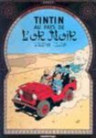 Les aventures de Tintin T.15 ; au pays de l'or noir - Couverture - Format classique