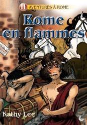 Rome en flammes - Couverture - Format classique