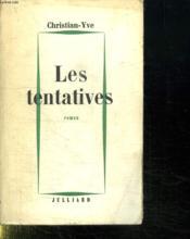 Les Tentatives. - Couverture - Format classique