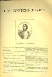LES CONTEMPORAINS N°176 à 181. NAPOLEON Ier. - Couverture - Format classique