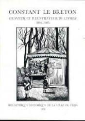 Constant le Breton - Couverture - Format classique