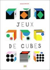 Jeux de cubes - Couverture - Format classique