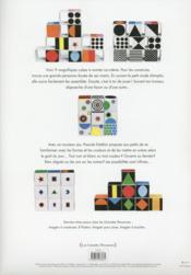 Jeux de cubes - 4ème de couverture - Format classique