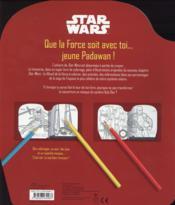 Star Wars ; Kylo Ren ; coloriages & activités - 4ème de couverture - Format classique