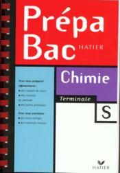 Prepabac Chimie Tle S - Couverture - Format classique