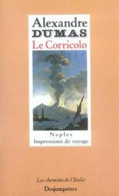 Le Corricolo ; impressions de voyage à Naples - Intérieur - Format classique