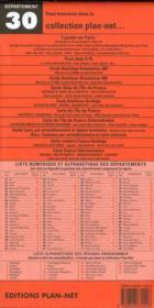 Departement n 30 - 4ème de couverture - Format classique