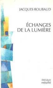 Echanges De La Lumiere - Couverture - Format classique