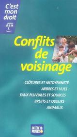 Conflits De Voisinage - Intérieur - Format classique