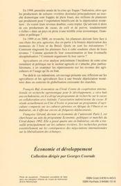 Agricultures en crise ; populations, matières premières et ressources naturelles en Indonésie, 1996-2000 - 4ème de couverture - Format classique