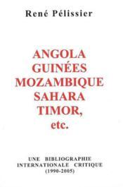 Angola-guinees-mozambique-sahara-timor,etc ; une bibliographie internationale critique(1990-2005) - Couverture - Format classique