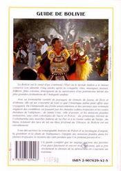 Bolivie (Guide) - 4ème de couverture - Format classique