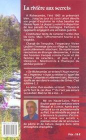 La riviere aux secrets - 4ème de couverture - Format classique