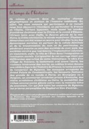 Dynamiques sociales au Moyen-âge en Occident et en Orient - 4ème de couverture - Format classique