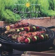 Brochettes et barbecue - Couverture - Format classique